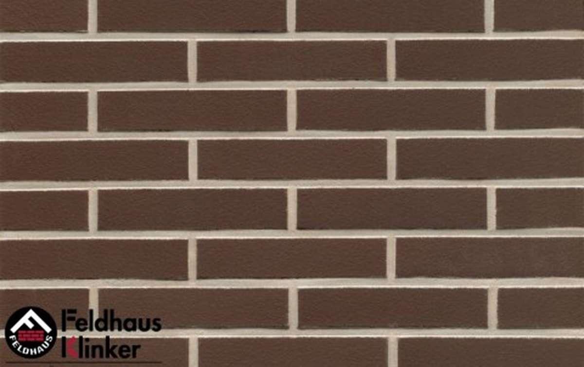 клинкерная плитка для фасада feldhaus klinker r500df9 geo liso 240x9x52