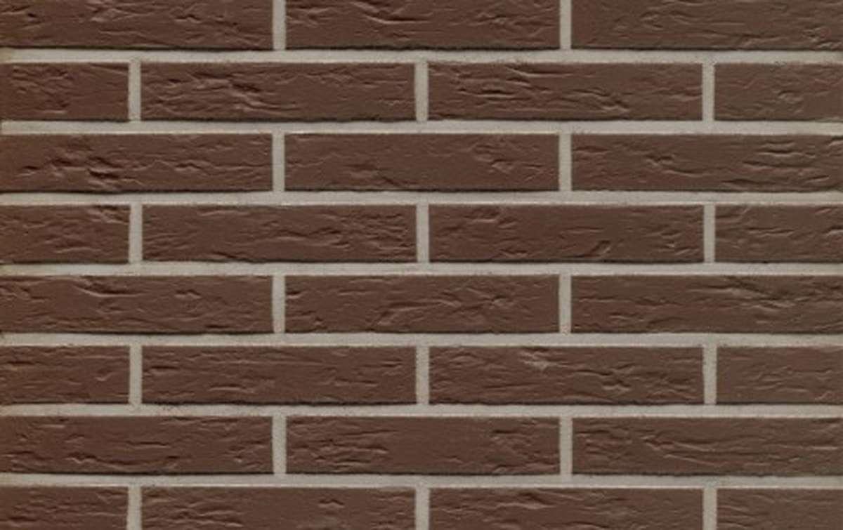 клинкерная плитка для фасада feldhaus klinker r540df9 geo senso 240x9x52