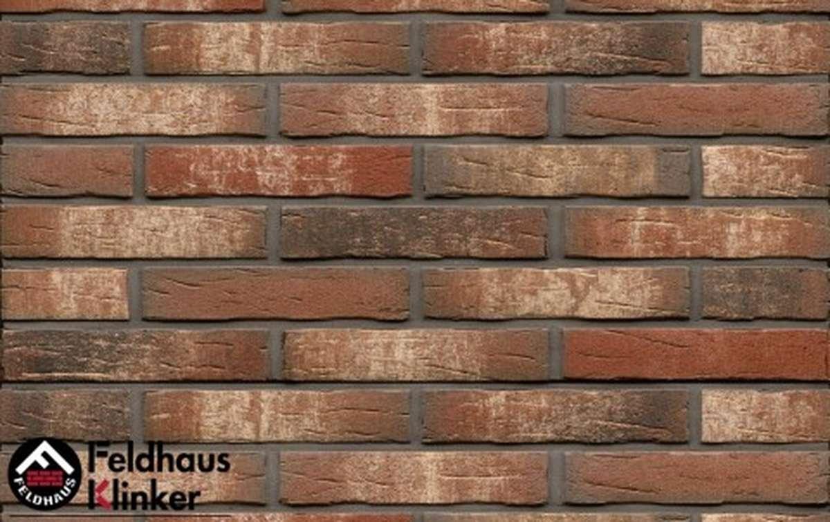 клинкерная плитка для фасада feldhaus klinker sintra ardor belino r658nf14 240x14x71
