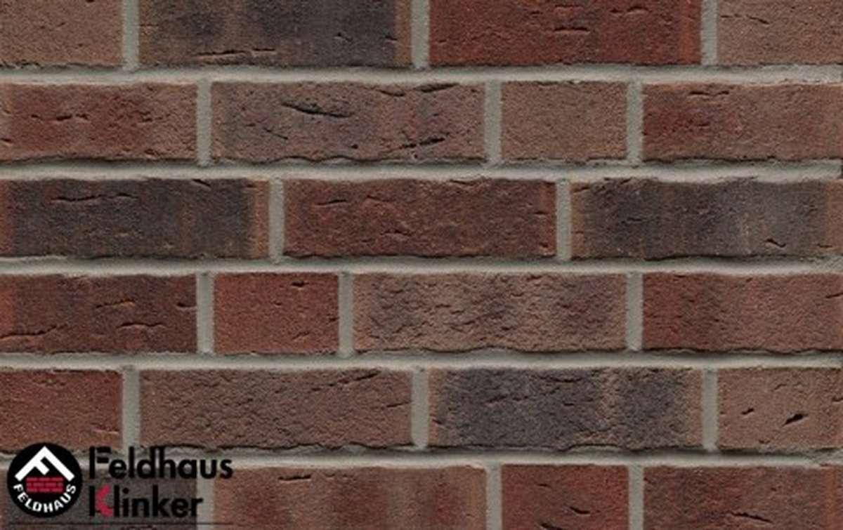 клинкерная плитка для фасада feldhaus klinker sintra cerasi nelino r663wdf14 215x14x65