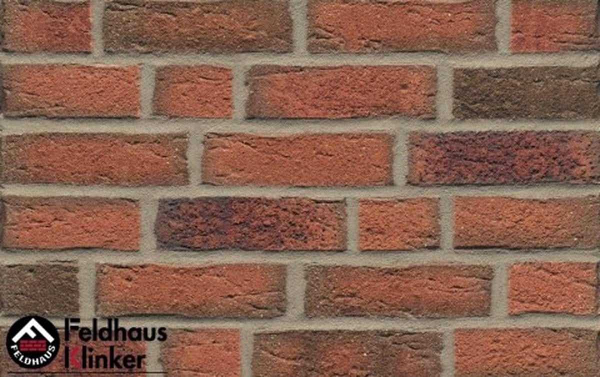 фасадная плитка feldhaus klinker sintra terracotta linguro r687nf14, 240x14x71