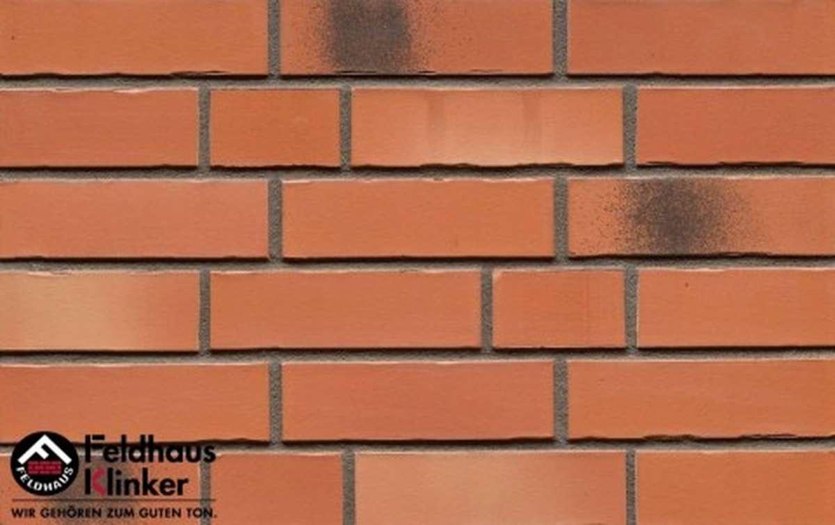 фасадная клинкерная плитка  FELDHAUS KLINKER R985DF14 240x14x52
