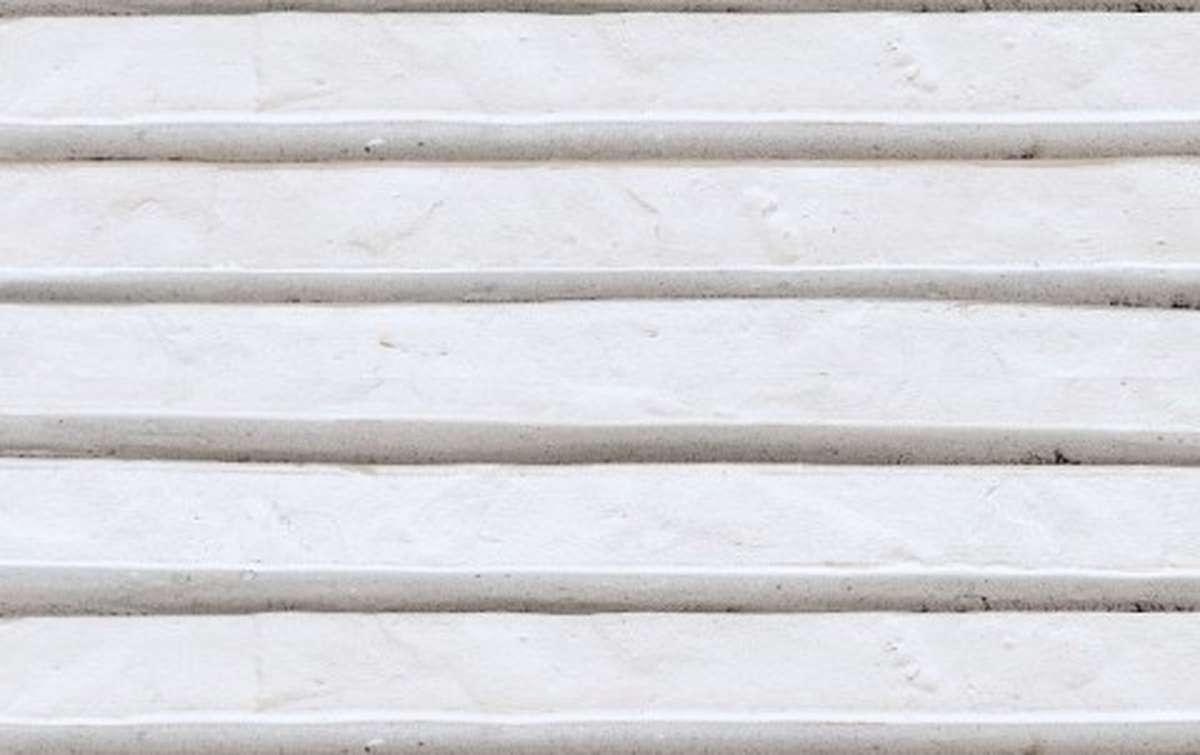фасадная плитка ригельформат БКЗ, Ладога, белый, 350x100x38