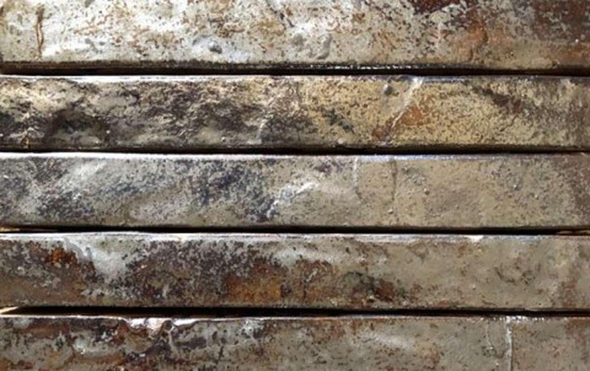 фасадная плитка ригельформат БКЗ, Гангут-57, коричневый, 515x100x38
