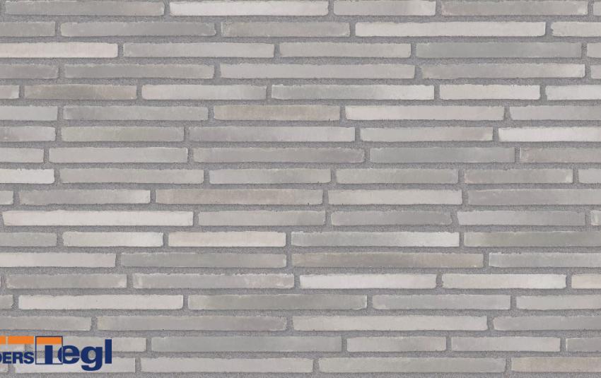 Кирпич ригель формата Randers Tegl темно-серый RT153 468x108x38