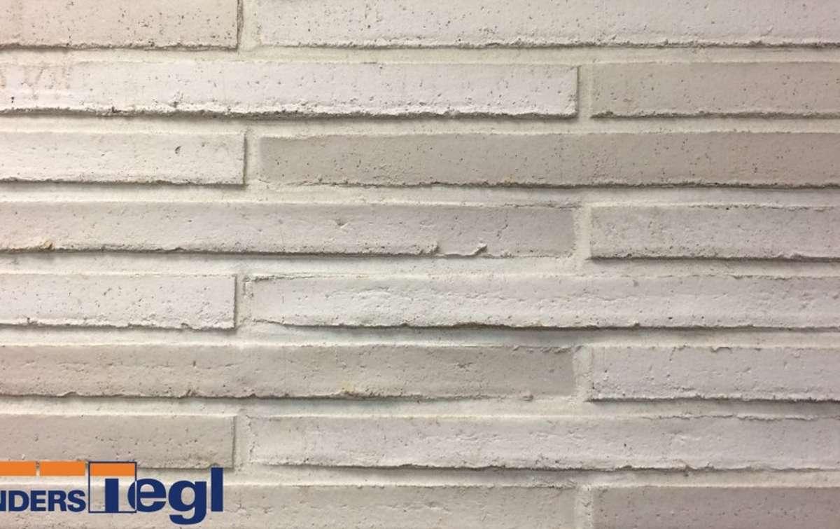 Кирпич ригель формата Randers Tegl светло-серый 468x108x38