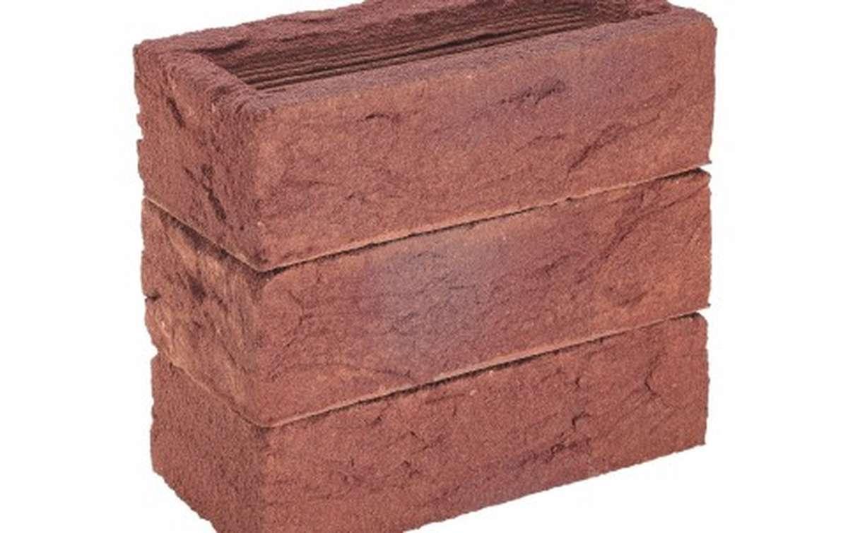 кирпич ручной формовки Rijswaard BELGRAVE RED MULTI 214x102x64 красный, EF