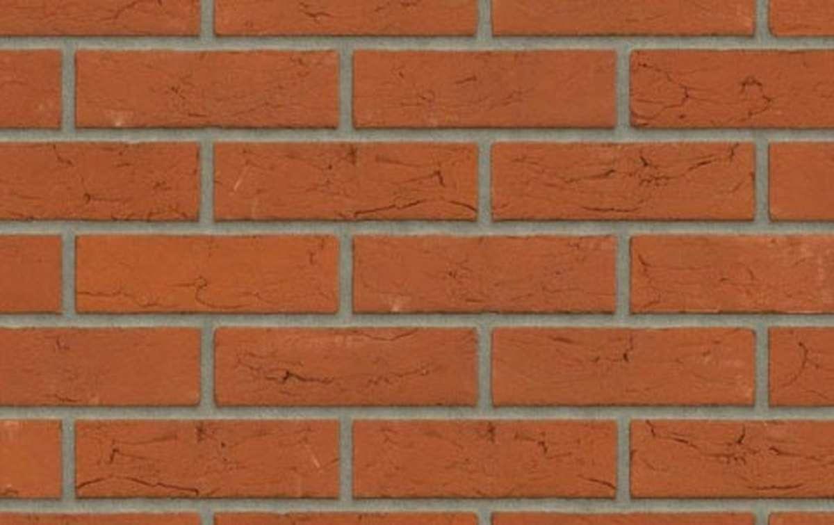 кирпич ручной формовки Rijswaard HOLMBURY 214x102x64 красный, EF