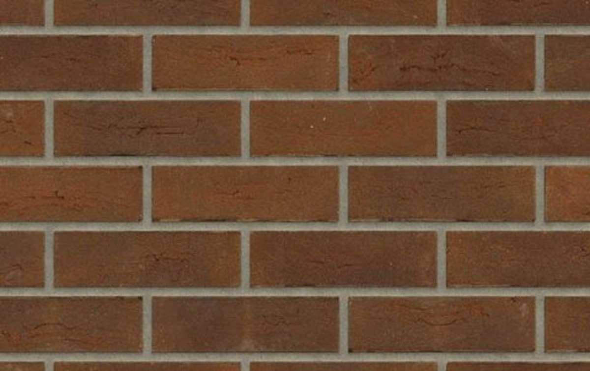 кирпич ручной формовки Rijswaard AALSTER BONT 214x102x64 коричневый, EF