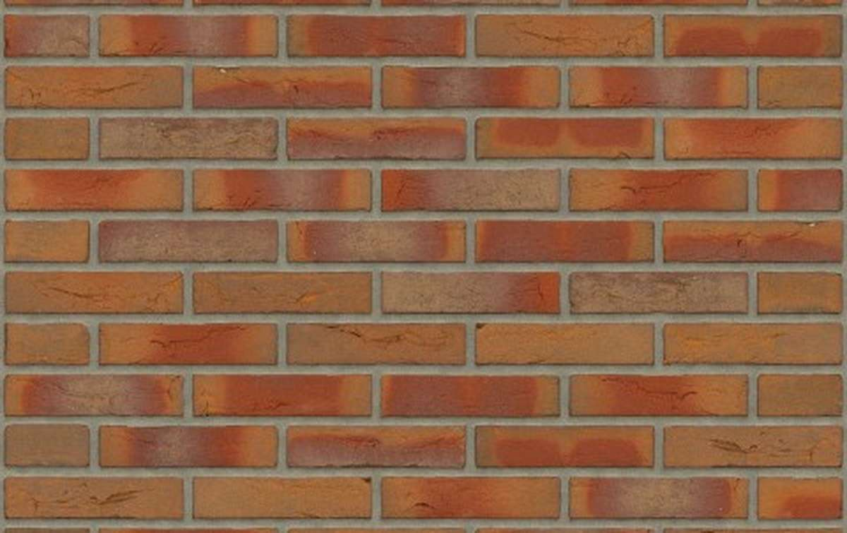 кирпич ручной формовки Rijswaard ENGELS BONT REDUX 210x97x49 красный, WF