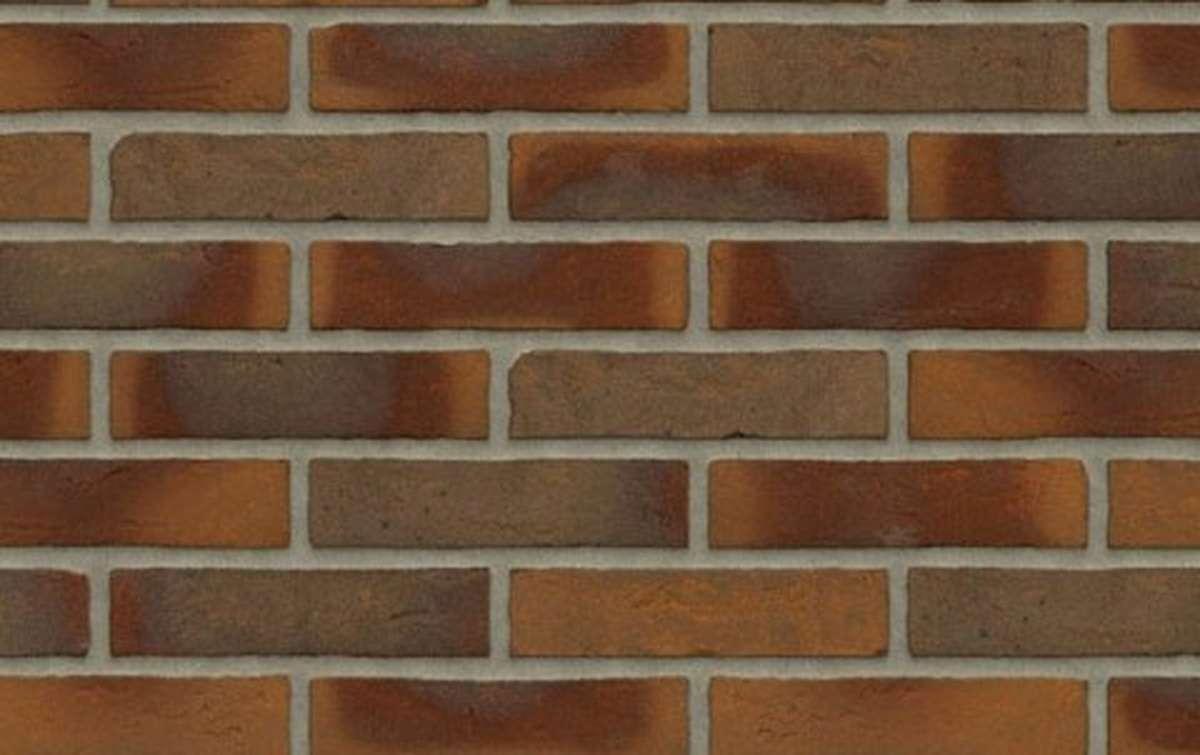 кирпич ручной формовки Rijswaard AALSTER BONT REDUX 210x97x49 коричневый, WF