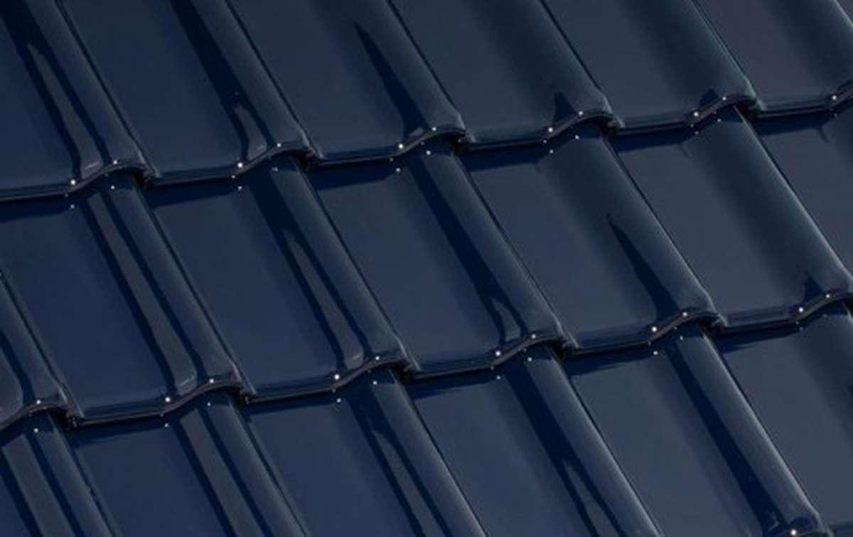 керамическая черепица laumans серия tiefa xl top, синий, № 101 azur-dunkel/brillant-glasur высококачественная глазурь