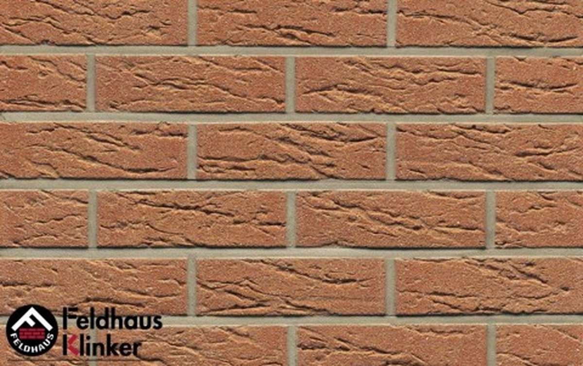 Термопанели Регент с клинкерной плиткой Feldhaus Klinker bronze mana R214NF9, 750x656x20