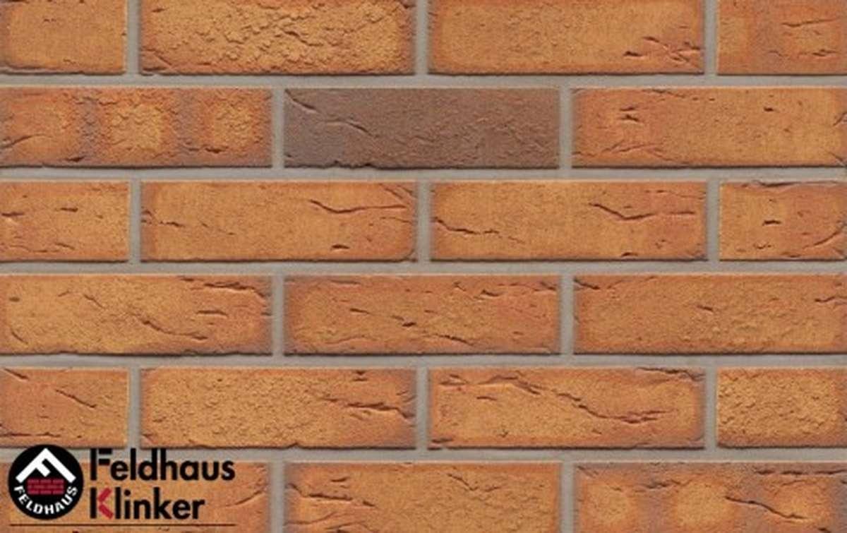 Термопанели Регент с клинкерной плиткой Feldhaus Klinker Nolani viva rustico R268NF9, 750x656x20