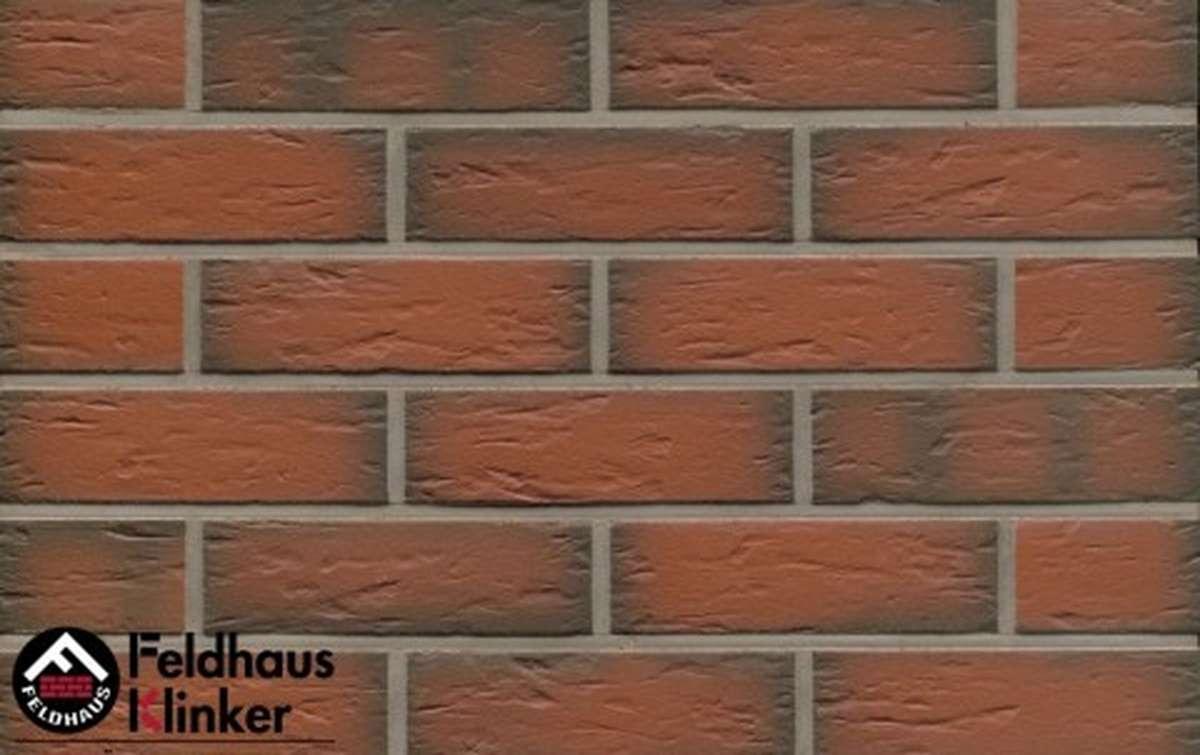 Термопанели Регент с клинкерной плиткой Feldhaus Klinker ardor senso R343NF9, 750x656x20