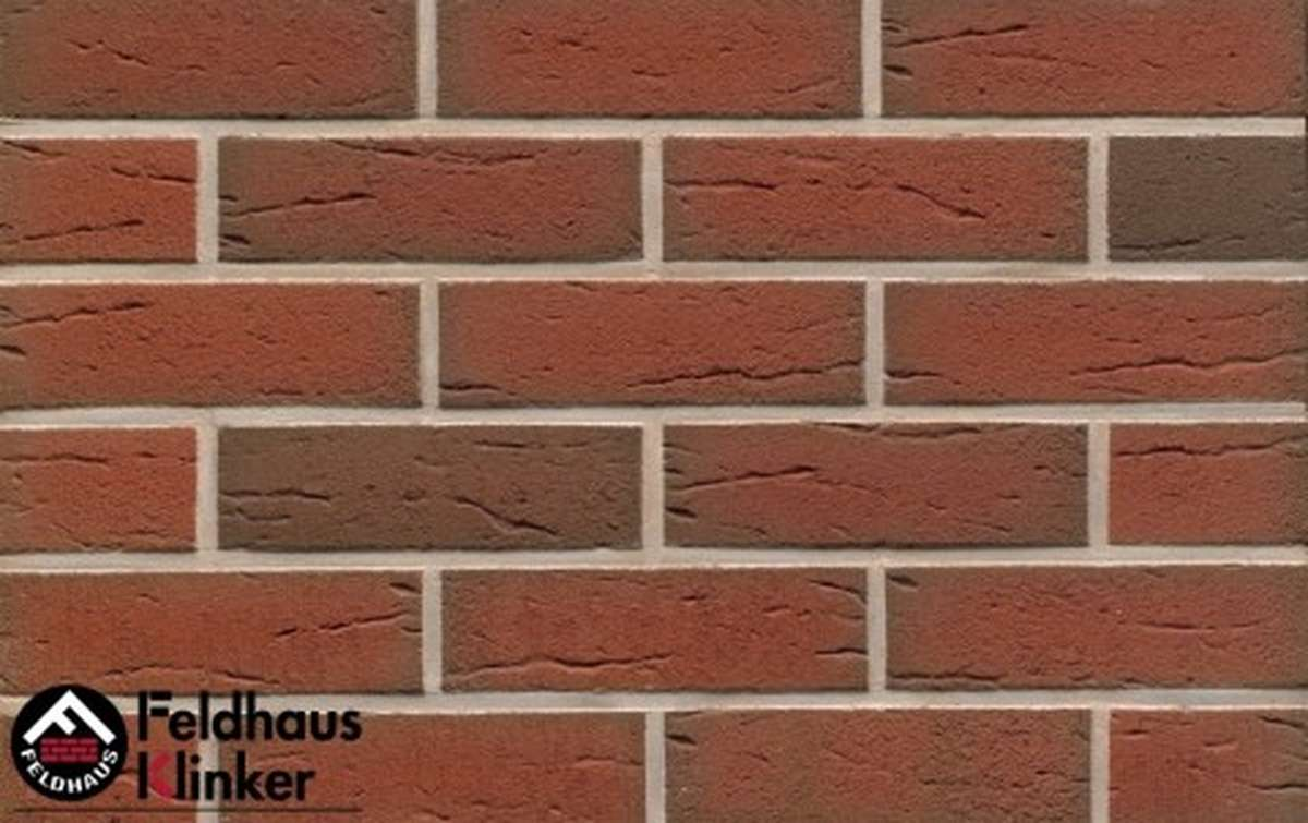 Термопанели Регент с клинкерной плиткой Feldhaus Klinker ardor rustico  R307NF9, 750x656x40