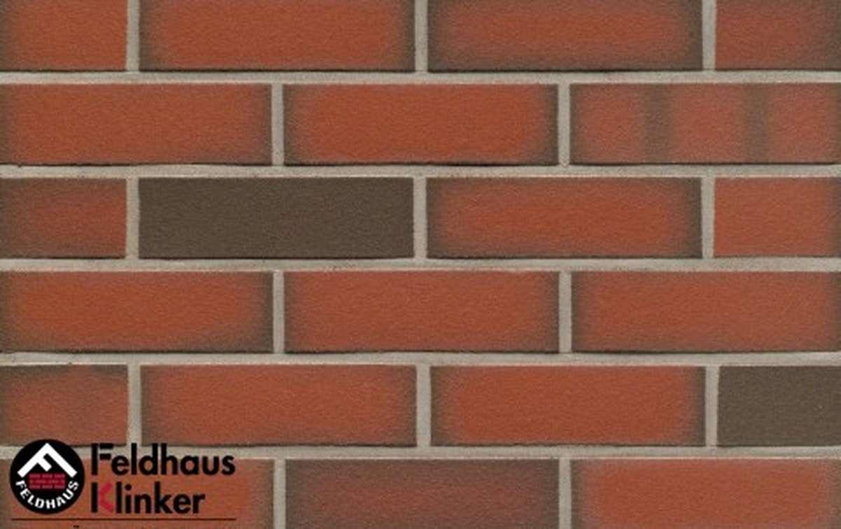 Термопанели Регент с клинкерной плиткой Feldhaus Klinker ardor liso R303NF9 , 750x656x60