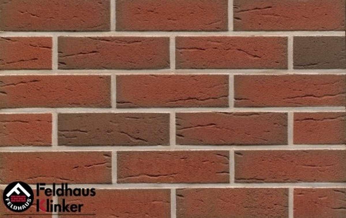Угловая термопанель Регент с клинкерной плиткой Feldhaus Klinker ardor rustico R307NF9, 750x656x40