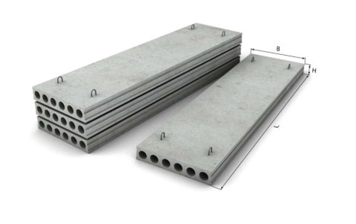 ПК 22-12-8, плиты перекрытий многопустотные по серии сер. 1.141-1 в.63,60 переработ. шифр 93-1336.3