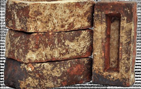 Кирпич ручной формовки Сафоново 0,6 WDF цвет #20